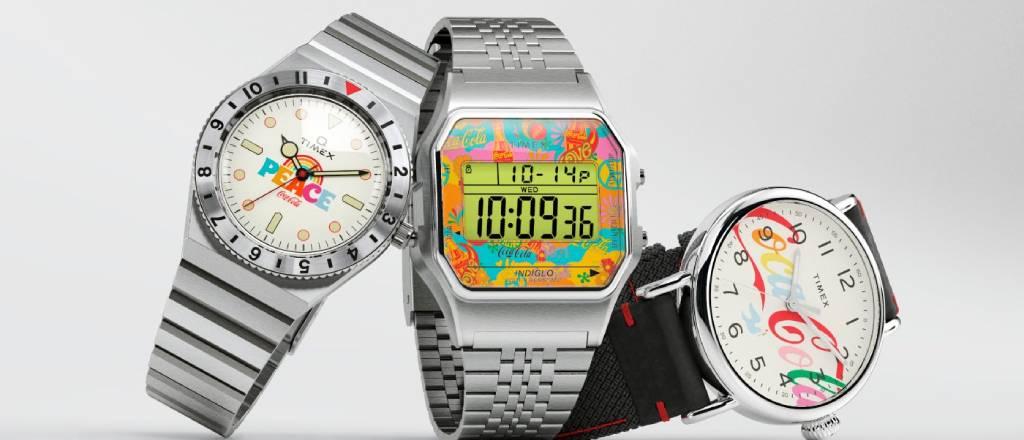 Timex Coca-Cola Edition 3 relojes